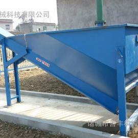 碳钢、不锈钢无轴螺旋砂水分离器,生活污水、地下水处理设备