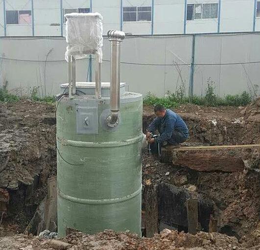 安徽合肥一体化污水泵站/一体化预制泵站/污水一体化提升泵站