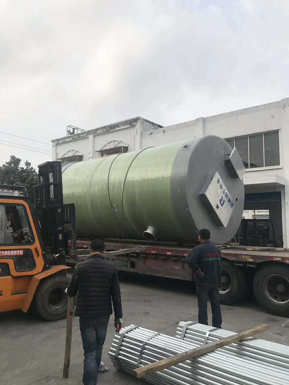 石家庄一体化污水泵站/一体化预制泵站/污水一体化提升泵站价格