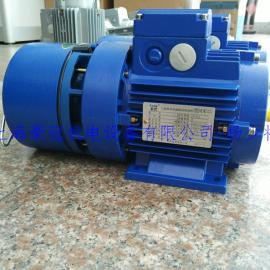 紫光电磁刹车马达/电机BMA7134 0.55kw