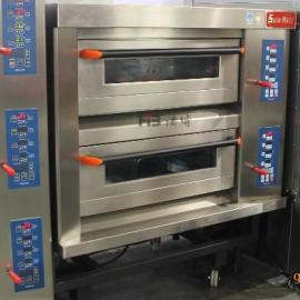 三麦SGC-2Y型两层四盘燃气烤箱
