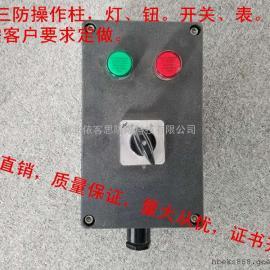 FZC-A3G三防操作柱操作箱/电机操作柱/3灯挂式/强酸强碱潮湿环境