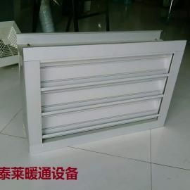 LBC-S-FS-11-W双层防雨保温调节百叶窗