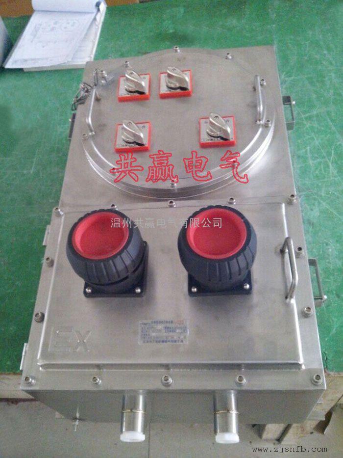 不锈钢防爆防腐插座箱 IIC级不锈钢防爆插座箱