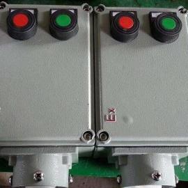 304不锈钢防爆按钮操作箱