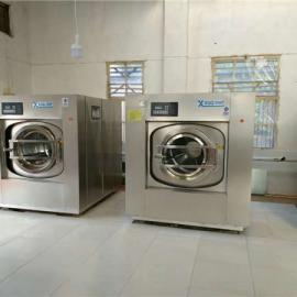 酒店洗衣房洗涤烘干设备 100公斤宾馆布草洗衣烘干机价格