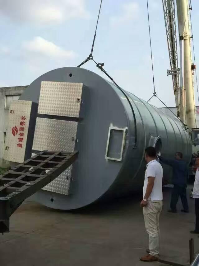 一体化预制泵站厂家价格/金泽供水