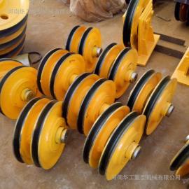 河南厂家专业生产32T热轧滑轮组 葫芦钩滑轮组 抓斗滑轮组 定制