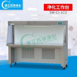 双人清灰作业台|SW-CJ-1CU型水平送风清灰作业台