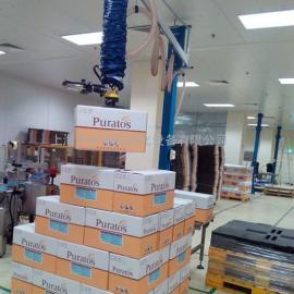 汉尔得气管吸吊机、VM120-2.5纸箱搬运吸盘吊具、码垛吸盘吊