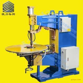 德力厂家直销FN系列气动交流不锈钢洗物盆台面式滚焊机