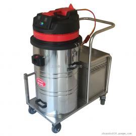 工厂仓库用电瓶式吸尘器大面积用移动式充电吸尘器DK1580现货