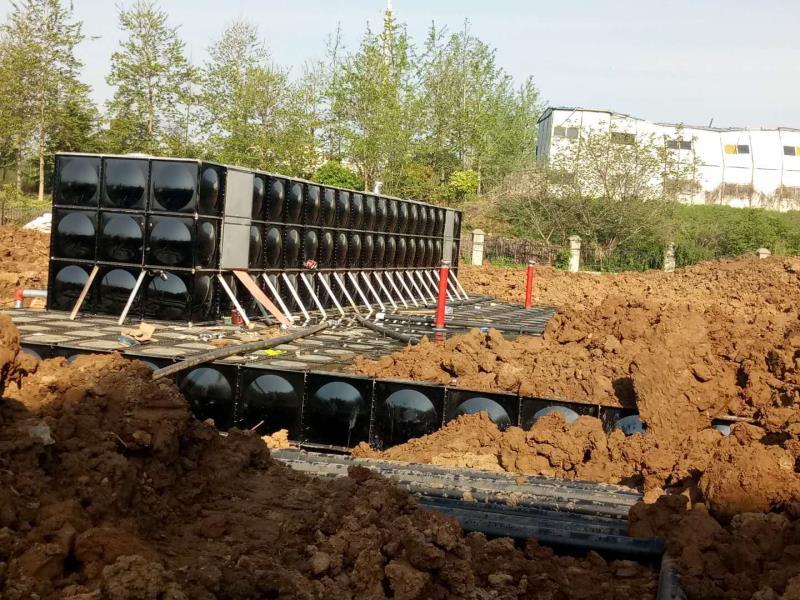 抗浮式地埋箱泵一体化消防给水泵站