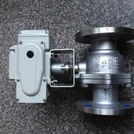 电动DN300法兰球铁闸阀