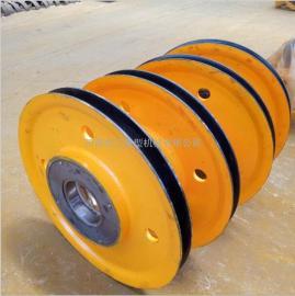 河南厂家专业生产 行车滑轮组 5T铸钢滑轮组 热轧滑轮组