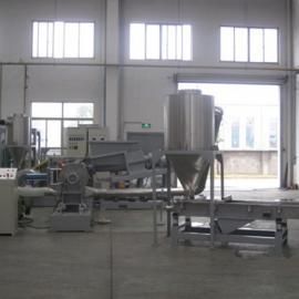 密炼单螺杆编织袋母粒造粒机