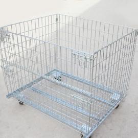 车间专用放置配件的仓储笼 周转箱(折叠式)