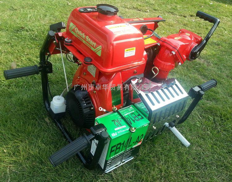 日本东发V20ES手抬机动消防泵,日本原装进口消防泵