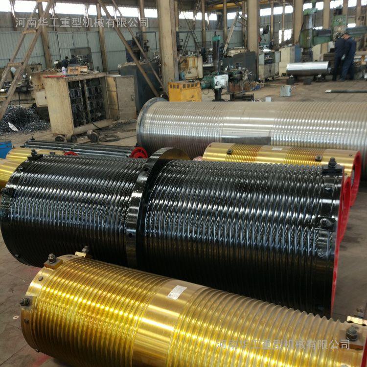 生产直径400*2000卷筒组 卷扬机铸铁卷筒组 双梁小车卷筒组 滚筒