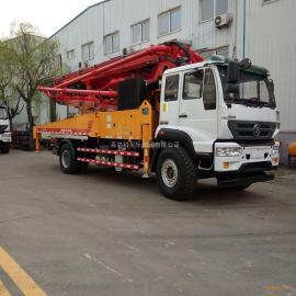 混凝土输送泵 37米混凝土输送泵 35米泵车-科尼乐集团厂家直销