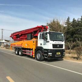 小型混凝土输送泵车 37米泵车 35米泵车