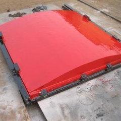 启闭机闸门-单向止水平板铸铁闸门50cm*50cm