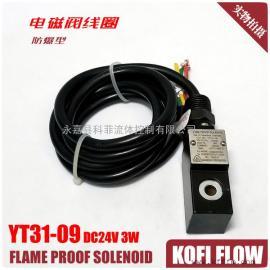 防爆线圈YT131-09 24VDC 3W 125MA
