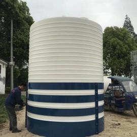 临沂20吨塑料水塔PE水箱生产厂家加厚防腐储罐化工存储罐