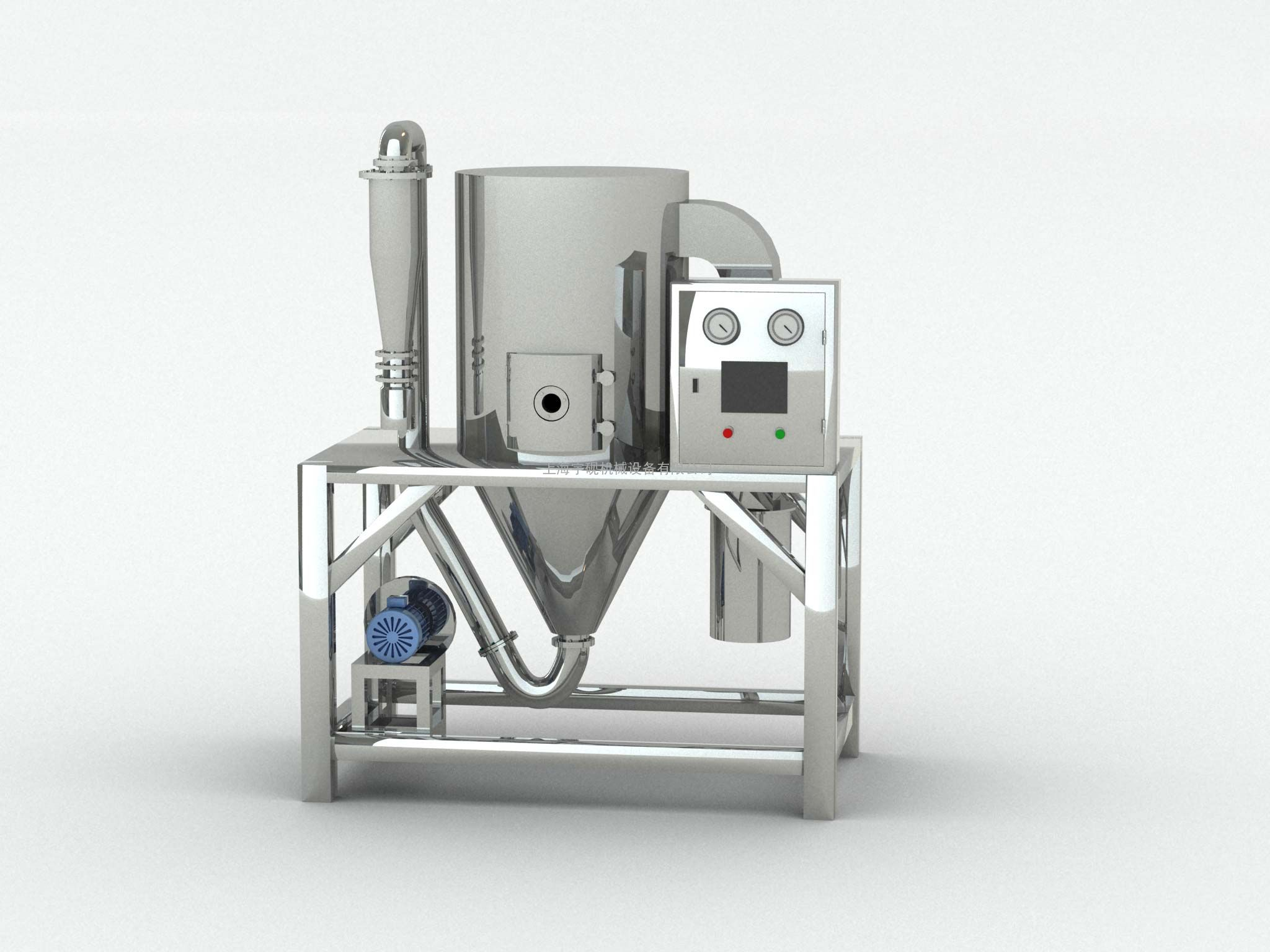 干燥设备多功能实验型离心压力喷雾干燥机
