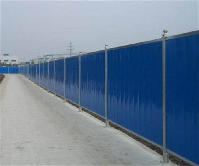 河南地铁站施工围挡规格美观大方隔离防护