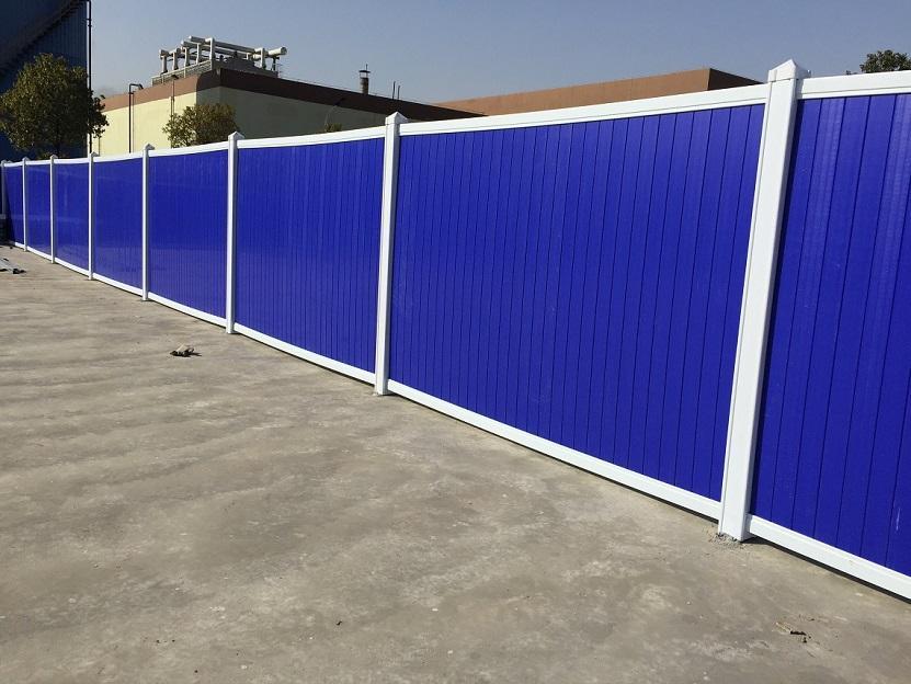 河南最新供应信息PVC组合式围挡用途美观大方隔离防护