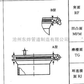 回转盖带颈对焊法兰人孔 盲板法兰人孔 锅炉人孔 人孔厂家