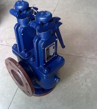 废气锅炉双联安全阀 不锈钢安全阀图片