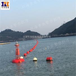 成都水上船只拦截浮漂拦污浮筒 拦漂设备浮体 厂家