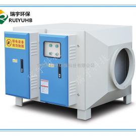 厂家直销瑞宇5000风量U型紫外光管光解净化装置