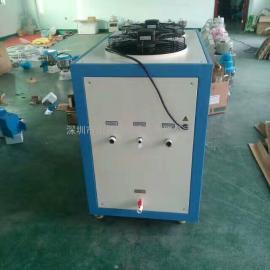 供应厂家出售3.75KW小型三辊研磨机降温冷水机