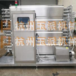 鸡汤快速冷却设备/鸡汤管道式冷却设备