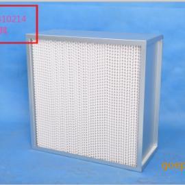 欣琪有隔板高效过滤器,高效铝框空气过滤器 纤维高效