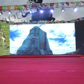 p3.91LED全彩显示屏舞台制作面积多大价格清单