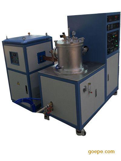 四川大学用250g钛合金冶炼真空磁悬浮熔炼炉