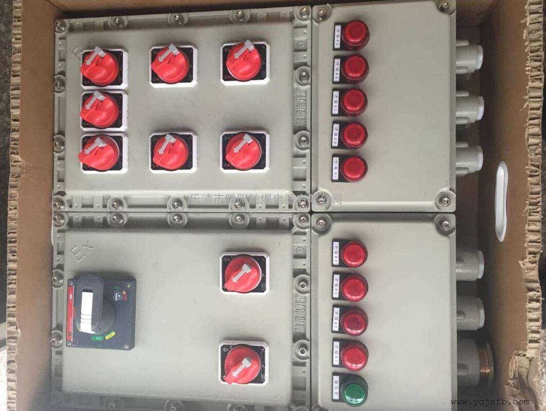 最专业的防爆电器厂家,乐清腾阳防爆电器 防爆配电箱技术标准/防爆配电箱安装尺寸/防爆配电箱系统图 乐清腾阳防爆电器有限公司是一家专业生产防爆电气的厂家。公司座落于浙江省温州市,拥有雄的技术实力,先进的生产设备,可以为您提供防爆电气从设计到生产的一条龙服务。我们愿以真诚的百分百努力,为您提供最优质的防爆电气为使命,来换取您百分百的满意。 您的满意,是我们的追求,是我们的动力。 请在发来防爆电气询价的时候,最好能提供您的详细的设计要求图纸,这样方便我们快速即时的为您提供令您最满意的防爆电气设计方案和最精准的防
