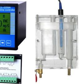 监测水中余氯浓度分析仪,在线余氯分析仪XL-2059A
