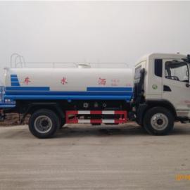 东风10吨热水保温运输车价格及厂家