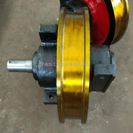 QD10T电动双梁桥式起重机车轮组 55号铸钢车轮组 φ400主动轮