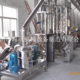 中草药超微粉碎机,厂家除尘式磨粉机