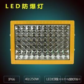 厂家供应免维护LED防爆泛光灯IIC 5~300W 100w加油站 厂房仓库