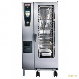德国原装进口RATIONAL万能蒸烤箱SCC201G燃气5S全自动电脑版