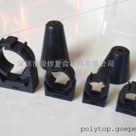 厂家专业生产漏缆卡具专用料 PA66材料