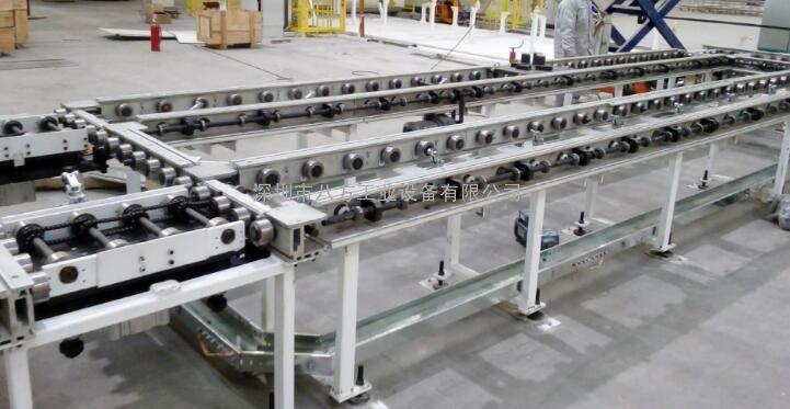 辊道线/摩擦积放式汽车轿车组装辊道线/八方BF-GD60