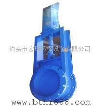 河北气动插板阀厂家 气动矩形闸阀 气动圆形插板阀型号